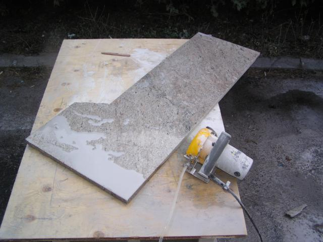 how to cut granite with a grinder